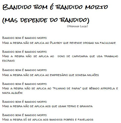 BANDIDO BOM