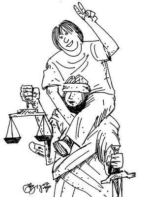 BURGUESIA MONTA NA JUSTIÇA